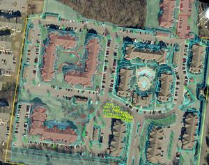 Commercial Property Measured by Gardens of Babylon, Nashville, TN.