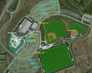 Sports Fields Measured for Chemical App