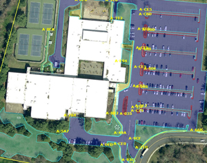 Commercial snow and landscape services, Monello Landscape Industries, LLC