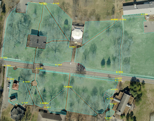 Turf Application Site Diagram TurfBusters, Beechgrove, TN