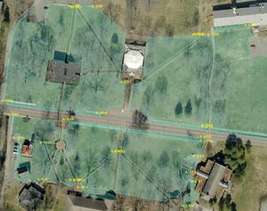 Turf Application Site Diagram TurfBusters, Beechgrove, TN