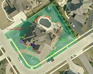 Go iLawn residential property diagram
