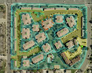 Commercial Landscaping Diagram