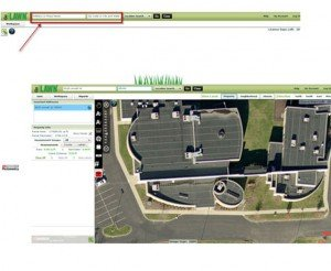 Search for properties to measure for landscaping