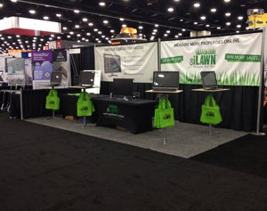 Go iLawn GIE Booth 2013!