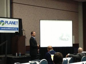 Mike Rorie speaking at PLANET