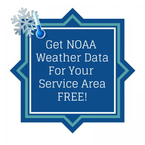 NOAA Weather Instructions Go iLawn